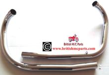 Exhaust Pipes, Triumph 3TA, 5TA, T100A, 1958- 70-3992/34