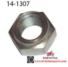 TRIUMPH T120 T140  & BSA A65  SWING ARM & REAR AXLE LOCKNUT 14-1307 UK Made