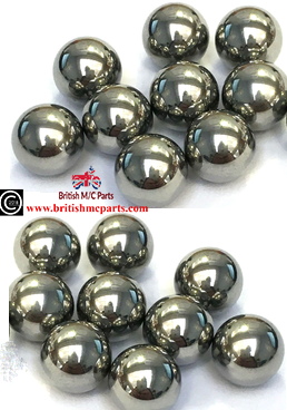"STEELCLUTCH CENTRE BALL BEARING TRIUMPH T15/T20 CUB  (Pack18) 5/32"" Dia, T1124 57-1124"