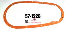 Triumph Primary Chaincase GASKET, Models 5T, 6T, T120,  Years (1954-62), .57-1226.