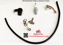 BSA BANTAM D1 ,D3, D5 D7 Points, Condensor Plug , Plug Top  Wipac  Ignition