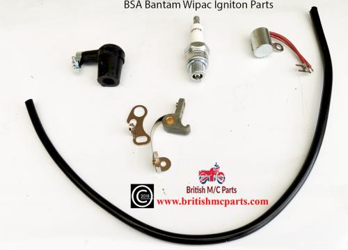 BSA BANTAM D1 ,D3, D5 D7 Points, Condensor Plug , Plug Top  Wipac  Ignition