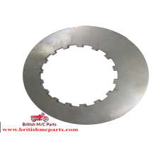 CLUTCH PLATE PLAIN - AJS, Ariel,  BSA, Matchless,  Panther, Vincent   67-3240  G-39-1, G-39-4,