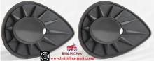 BSAPetrol Tank Badge Backing Rubbers UK Made 68-8152/3