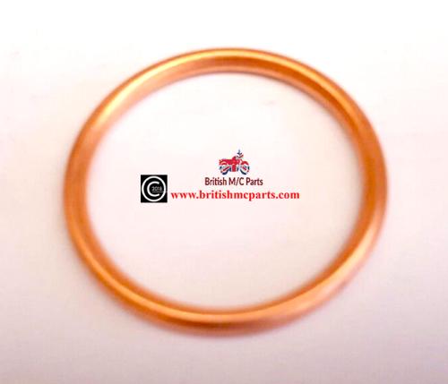 BSA BANTAM D14 B175  Exhaust Gasket Copper Sealing Ring 82-8295 (BIG BORE)