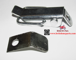BSA A65 Dualseat Catch Assembly  UK Made  Part No 83-3061