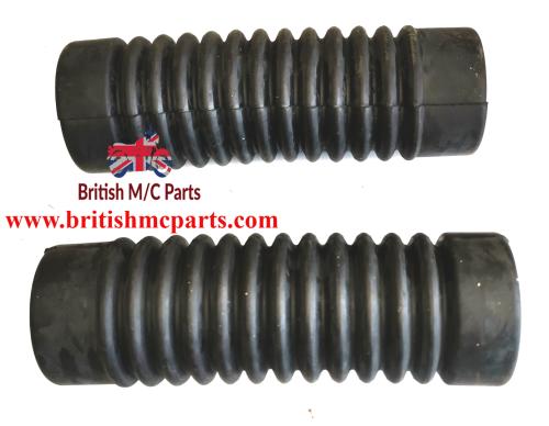 Fork Gaiters, BSA D14/4, B175, Bushman. Heavy Weight 97-3784  UK Made
