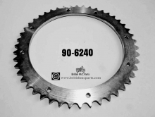 Rear Sprocket BSA BANTAM D7 D10 D14 B175 47T 8 Hole 90-6240 UK Product