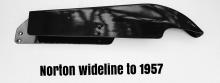 Chainguard, Norton Model 77, 88 Wideline Featherbed Frame H12-2/497
