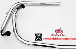 TriumphT100 TR5 Exhaust Pipes.  1958-59 70-3629/33 UK Made