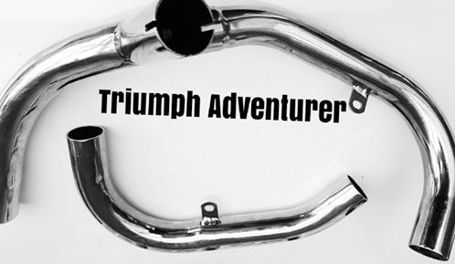 Exhaust Pipes, Triumph TR5T ADVENTURER  71-3534/6