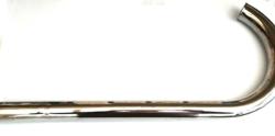Exhaust,BSA BantamD3 D5 Plunger Exhaust Pipe Chrome  90-3070