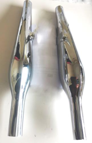 Silencers, Norton Pear Drop  Dominator 77 & 88  500cc 1953 -!957 H12/169 UK Made