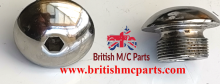022215 Fork Nuts Domed  AMC AJS Matchless Fitted Allen key slot