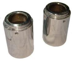Norton Dominator Atlas Roadholder Fork Oil Seal Holders With Holes 03-0453/4 UK Made