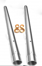 Fork Stanchions and Bushes  BSA  C15 , 40-5004 40-5019/20  UK Product,