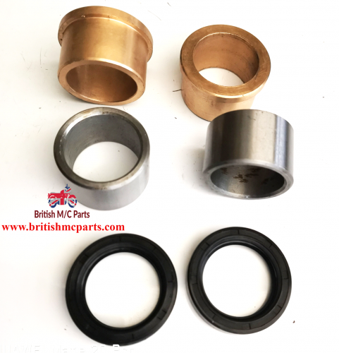 """AJS Matchless Stanchions 1 1/8""""  Bushes Oil Seals SPECIAL ORDER"""