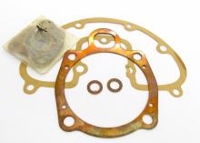 BSA B40 DECOKE GASKET SET COMPLETE WITH COPPER HEAD GASKET -  B40 Star SS90 350cc (1961-65)