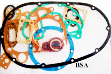 Gasket Set BSA B44 Complete With Copper Head Gasket -BSA 332