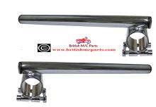 BSA A7 A10, A65 Clubman ,RGS Clip On Handlebars 34mm