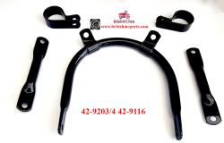 Headlamp Bracket Set, BSA Goldstar Clubman &RGS, 42-9203/4, 42-9116