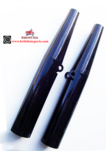 67-5009 BSA Fork Sleeve Tubes M20, M21, B31, B33, B34, A7, A10 UK Made Black