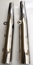 67-5009/3 BSA Gold Star/Scrambler, RGS. (Chromed) Fork Tube Covers