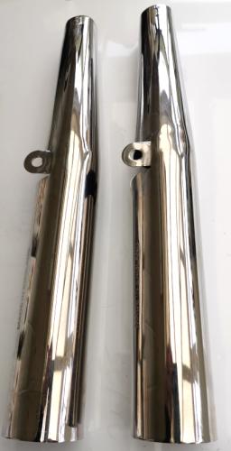 67-5009/3 BSA Gold Star/Scrambler, RGS. (Chromed) Fork Tube Covers