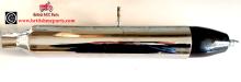 Silencer, BSA Bantam D1, D3 Rigid & Plunger, 90-3040 UK Made