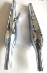 Silencers, Norton Pear Drop Model 7 Dominator 77 & 88 H12/169 UK Made