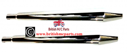 Silencers, Norton Peashooter without End Cone Seam  ( TOGA UK Made ) 06-1978
