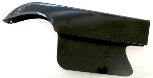 42-7730 BSA A7 A10 B31 B33 Chainguard, Late Swing Arm (Black) 1956 - 63