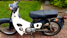 SOLD Honda C90 year approx 1968-1970 89cc. SOLD