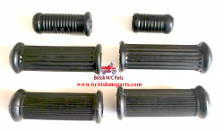 BSA M20 M21 M33 Plunger Footrest Rubbers Kit 29-7551