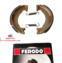 Brake Shoes, 90-5719 BSA Bantam  Front - Rear Wheel FERODO