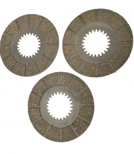 90-1318 BSA BANTAM CLUTCH FRICTION PLATES D1-D14, (3 Off)  A904