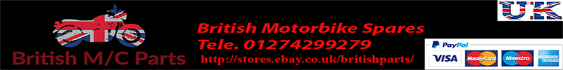 AMC, AJS, ARIEL, BSA, NORTON, TRIUMPH. MOTORCYCLE SHOCK ABSORBERS - British M/Cycle Parts Online Shop | BSA | Norton | Triumph | Motorcycle Spare Parts & Accessories