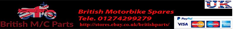 Engine and Gearbox Oil Seals & Gaskets  for BSA Motor Bikes