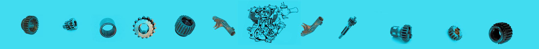 AMC, BSA, Norton & Triumph Spare Parts Stocke